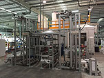 Coating line with Accumulators
