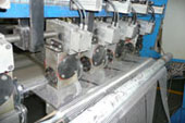Slitting line and cutting role machine